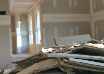 history of drywall